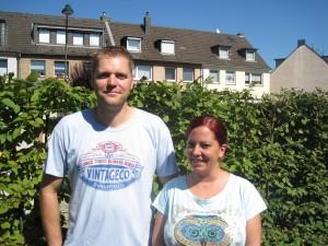Herr und Frau Blum, Hausmeisterehepaar