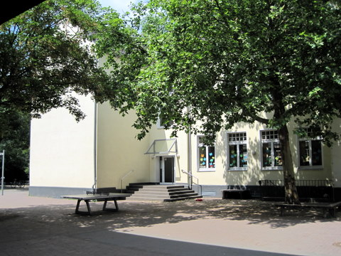 Schulhof der Grundschule