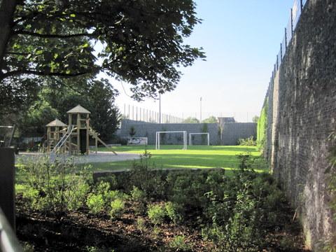 Spielplatz der Grundschule